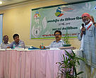 Dr. Anil Joshi sharing his concerns about water management and conservation