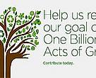 One billion Acts of Green