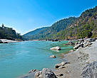 The Ganga is one of the rivers in which the Ganges shark is found.