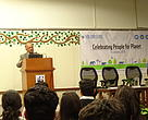 Mr. Ravi Singh, CEO WWF-India addressing the volunteers