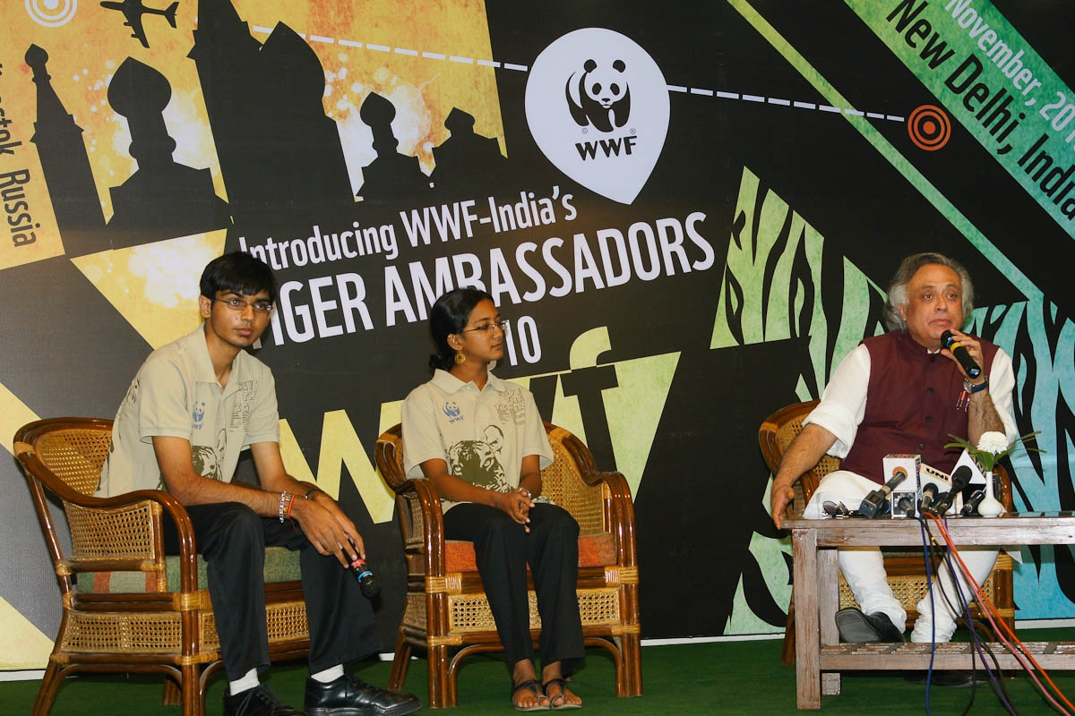 WWF-India introduces Youth Tiger Ambassadors ahead of