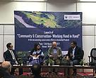 Panel Discussion_L-R- Mr. P Ringu, Ms. Gargi Rawat, Mr. Ravi Singh, Mr. Prosenjit Ghosh