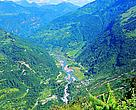 A view of the Pangchen Valley in Arunachal Pradesh