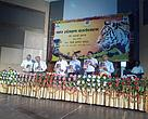 The release of the 'Tiger Status in India' report at the tiger conservation workshop in Lucknow.